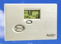 Electronic thermostat for Aprilaire