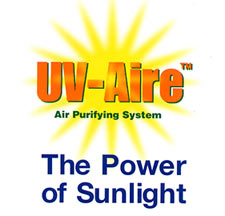 UV-AIRE Air Purifying System, the power of sunlight